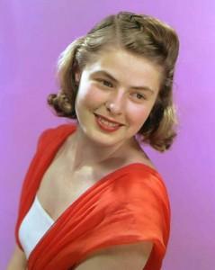 Ingrid Bergman Height Weight Age Husband Body Measurements Favorite Things