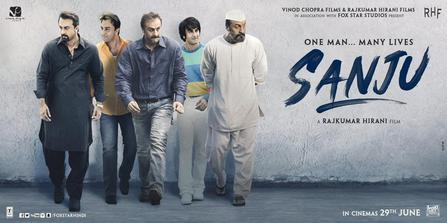 Sanju 2018 Movie Official Poster